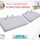 Set saltele MyKids Cocos My Dreams II 120x70x10 (cm) + 50x70x10 (cm)