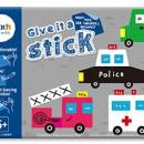 "Carte creativa Stickn Give it a Stick - patrate (+5 ani)"""