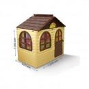 Casuta de joaca MyKids 02550/12 Beige/Brown - Small