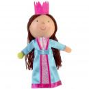 Marioneta pentru deget Printesa si bobul de mazare Fiesta Crafts FCG-1065