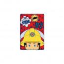 Paturica copii Pompierul Sam 100 x 150 cm SunCity SHS4256