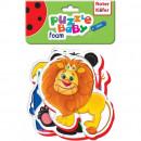 Puzzle Bebe Animale de la Zoo, 18 piese Roter Kafer RK1102-04