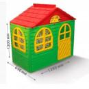 Casuta de joaca MyKids 02550/13 Green/Red - Small