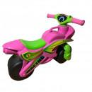 Motocicleta de impins MyKids Racing 0139/3 Roz/Verde
