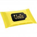 Set 15 Servetele umede antibacteriene Galben Unis IV3181