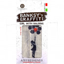 Odorizant auto Girl With Baloons Banksy UB27004