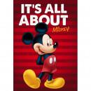 Paturica copii Mickey Red Star ST55888
