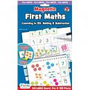 Set magnetic primele notiuni de matematica – invata copiii sa numare si sa recunoasca cifrele.