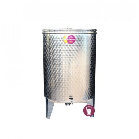 Butoi Inox Distilate 100 L cu Dop