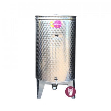Butoi Inox Distilate 260 L cu Dop