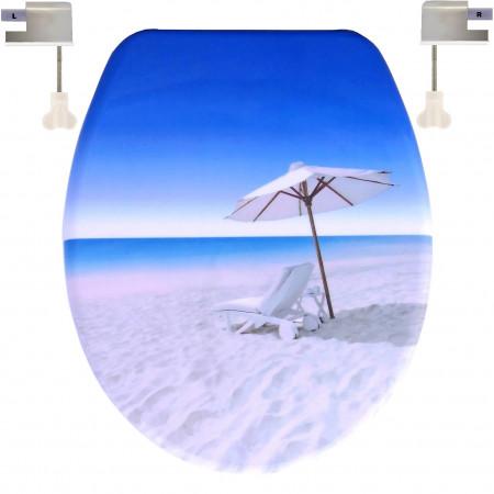 Capac WC Soft-Close Umbrela Plaja