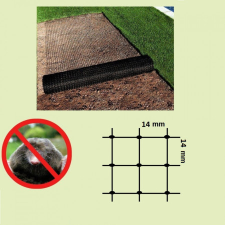 Plasa Anti-Cartita 1x50m, 44g/m2