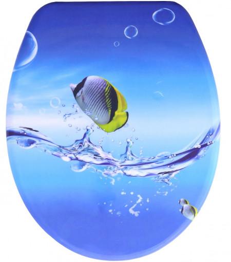 Capac WC Soft-Close Pestisor