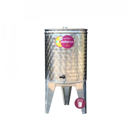 Butoi Inox Distilate 145 L cu dop