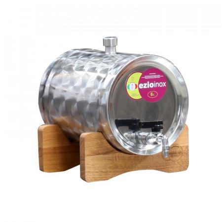Butoi Inox Distilate 6 L