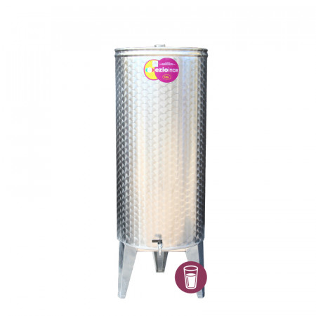 Butoi Inox Distilate 180 L cu Dop