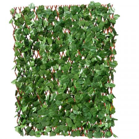 Gard Artificial Extensibil Iedera 100x200cm