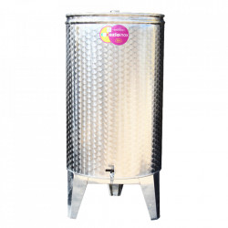Butoi Inox cu Capac Flotant 320 L (3 robineti)