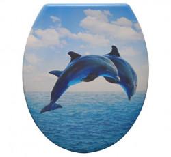 Capac WC Soft Close Delfin