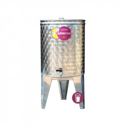 Butoi Inox Distilate 60 L cu Dop