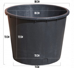 Butoi Multifunctional Plastic 350 L