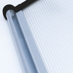 Copertina Fixa Policarbonat Transparent 240x100 cm