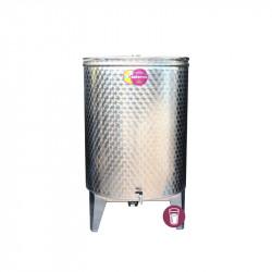 Butoi Inox Distilate 500 L cu Dop