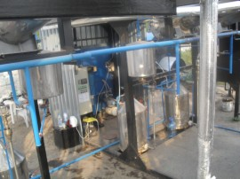 Instalatii de distilat lavanda volum 5000 L