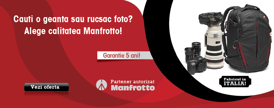 Genti si rucsacuri foto video Manfrotto