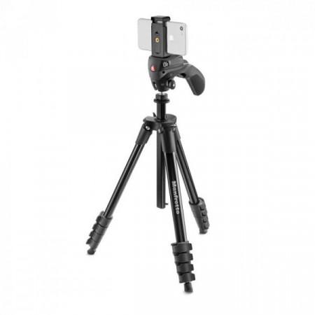 Manfrotto Compact Action Smart trepied foto video cu prindere pentru smartphone