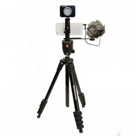 Manfrotto Kit pentru Vlogger LED3 Compact Action