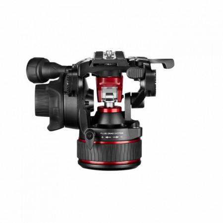 Manfrotto MVH612AH Nitrotech cap video fluid contrabalans continuu