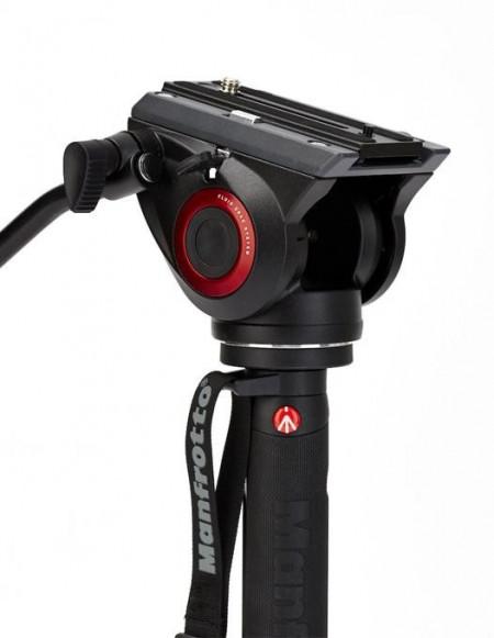 Manfrotto MVMXPRO500 monopied video fluid cu baza Fluidtech