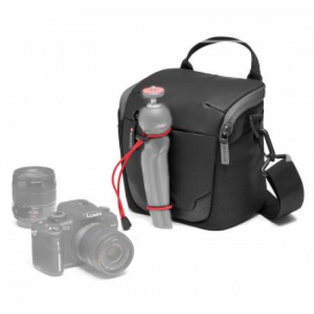 Pachet Manfrotto Advanced Geanta de umar Small+Joby GripTight Action Kit minitrepied flexibil cu telecomanda