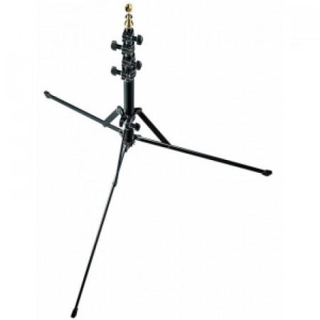 Pachet Manfrotto Mini Stand 5001B + Manfrotto Smart Tilt, suport umbrela cu patina pentru blitz + Photoflex UM-ADH45 Umbrela Argintie 114cm