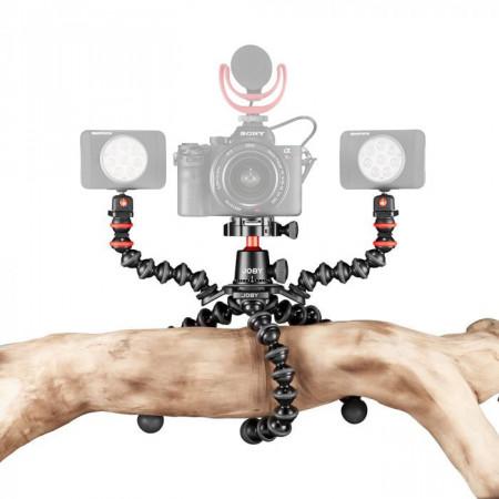 Joby GorillaPod 3K PRO Rig Kit Vlog cu 1 LED si Microfon