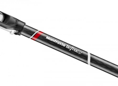 Manfrotto Befree GT trepied foto carbon twist