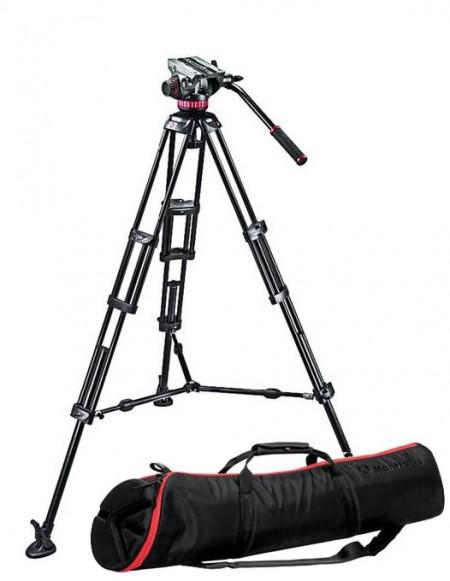 Manfrotto MVH502A,546BK Kit trepied video