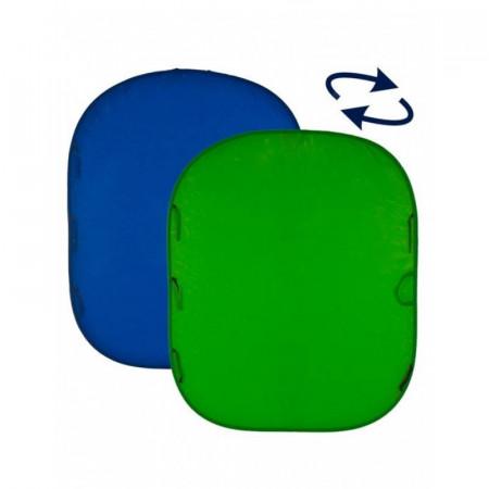 Lastolite Fundal pliabil Chroma Key verde albastru 1.8x2.1m