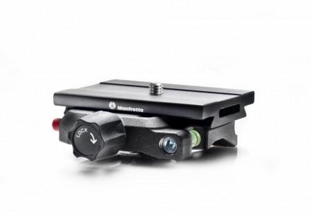 Manfrotto Adaptor Q6 Top cu placa rapida Arca Swiss