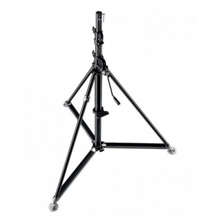 Manfrotto Black Stainless Steel Super Wind Up Stand 387XBU