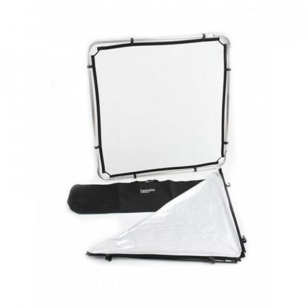 Lastolite Skylite Rapid Kit Cadru cu panza Silver White si Difuzie 1x1m