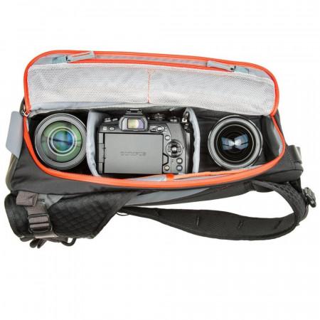 MindShiftGear PhotoCross 10 - Orange Ember - rucsac cu o singura bretea