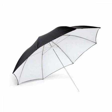 Tolifo Umbrela alb negru 101cm