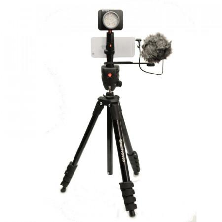 Manfrotto Kit pentru Vlogger LED6 Compact Action
