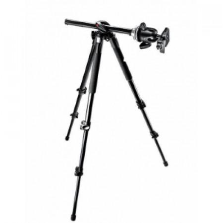 Pachet Manfrotto MK290DUA3-BH kit trepied cu cap bila + Manfrotto geanta trepied 75 cm Non Padded