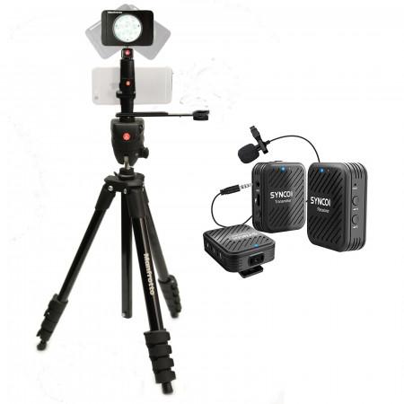 Manfrotto Kit pentru Fitness Vlog LED8 Wireless Synco Dubla