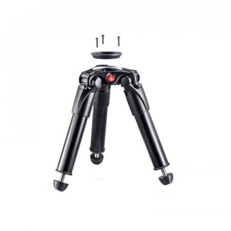 Manfrotto trepied aluminiu Hi Hat, adaptor cap bila 75-60mm