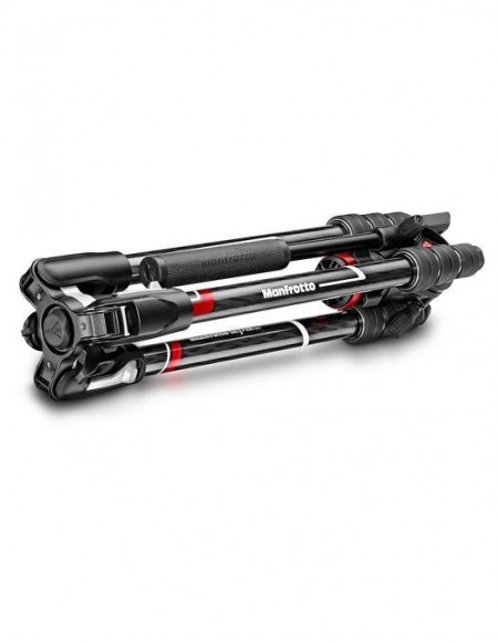 Manfrotto Befree Live Kit Trepied Video Carbon Twist