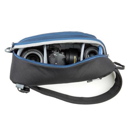 ThinkTankPhoto TurnStyle 10 V2.0 (Blue Indigo) - rucsac foto cu o singura bretea